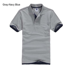 Load image into Gallery viewer, Plus Size XS-3XL Brand New Men's Polo Shirt High Quality Men Cotton Short Sleeve shirt Brands jerseys Summer Mens polo Shirts