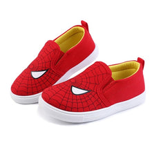 Load image into Gallery viewer, New Children Superman Spiderman Batman Shoes Girls Boys Kids Fashion Cotton Padded Sneakers Christmas/Halloween Shoes Size 20-31