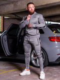 New Fashion Men Set Long Sleeve Camouflage Hoodies+Pants Set Male Tracksuit Outdoors Suit Men's Gyms Set Casual Sportswear Suit