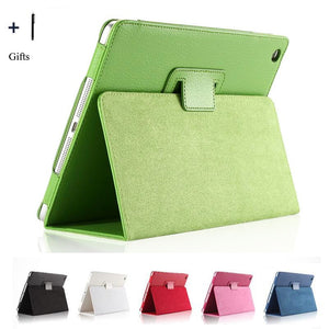 For Apple iPad Air 1 Case Flip Stand Leather Cover For Apple iPad Air 1 Tablet Capa Fundas Coque+Stylus Screen Protector
