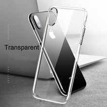 Load image into Gallery viewer, Oppselve 5D Screen Protector Tempered Glass Case For iPhone Xs Max Xr X 8 7 6 S Plus Luxury Glossy Back Cover For iPhonX Capinha