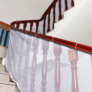 Kids stairs safety net netting protection Rail Balcony stair fence balcony baby  fence stair net Decoration net Thick hard mesh