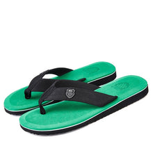 Load image into Gallery viewer, Men Summer Flip Flop Shoes Sandals Male Slipper Indoor Or Outdoor Beach Flip Flops Men Fashion Home Non-slip Breathable Slippers
