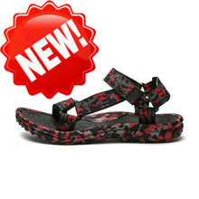 Load image into Gallery viewer, Summer Men Sandals Gladiator Beach Shoes Male Camouflage Slippers Sport Water Flip Flops Sandalia Masculina Zapatos De Hombre