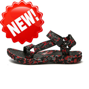 Summer Men Sandals Gladiator Beach Shoes Male Camouflage Slippers Sport Water Flip Flops Sandalia Masculina Zapatos De Hombre