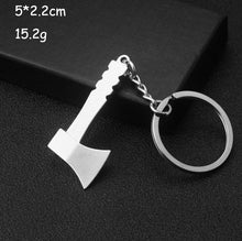 Load image into Gallery viewer, Keychains For Men Car Bag KeyRing Outdoor Combination Tool Portable Mini Utility Pocket Clasp Ruler Hammer Wrench Pliers Shovel