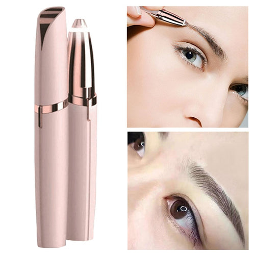 Electric Eyebrow Epilator™ with LED Light
