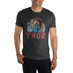 The Mighty Thor Black T-Shirt Tee Shirt