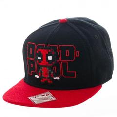 Marvel Deadpool Pixel Snapback