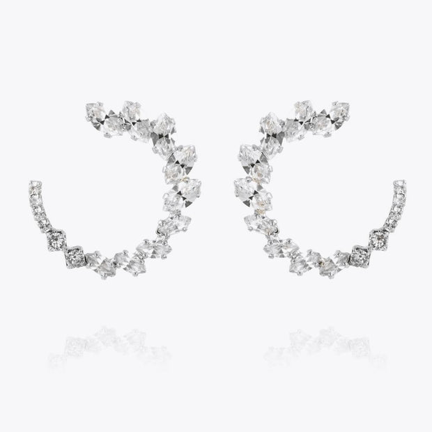Caroline Svedbom - Angie Earrings Crystal Rhodium