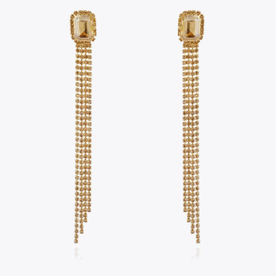 Caroline Svedbom - Ivy Earrings Golden Shadow Gold