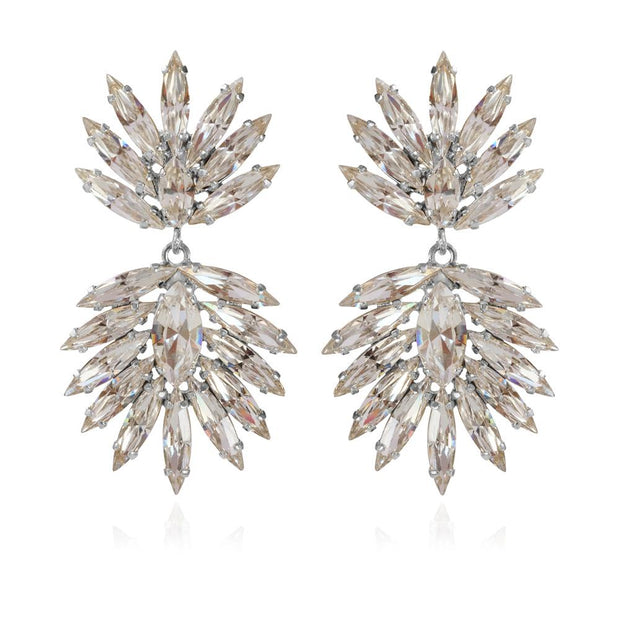 Cina Earrings / Crystal