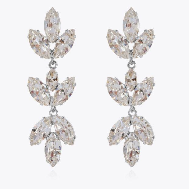 Caroline Svedbom - Tekla Earrings Crystal Rhodium