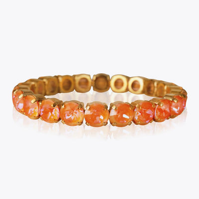 Caroline Svedbom - Mini Drop Bracelet Orange Glow Delite Gold