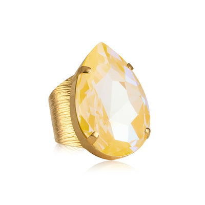 Caroline Svedbom - Perfect Drop Ring with Swarovski Crystal