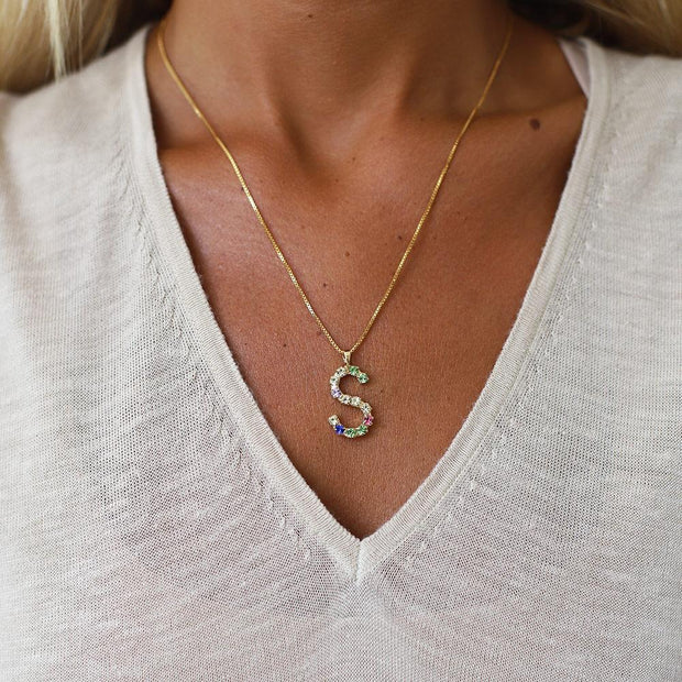 Letter Necklace / S