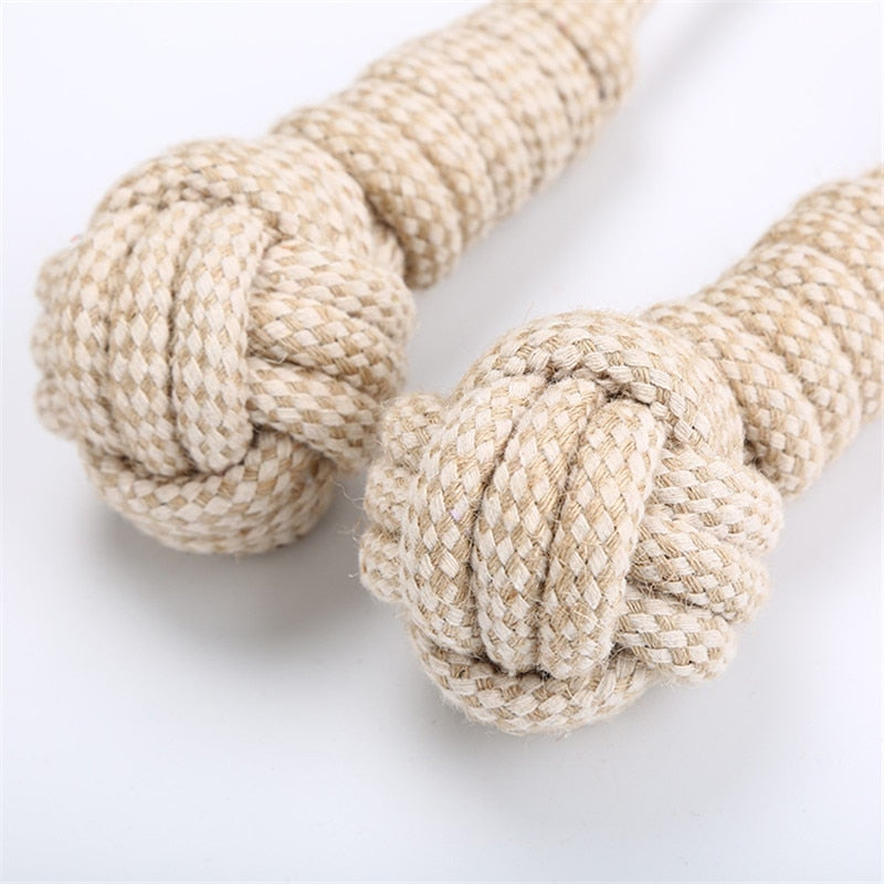Braided Cotton Rope Toy