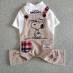 Snoopy Overalls for Dogs
