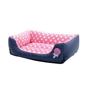 Polka Dot Cushion Bed