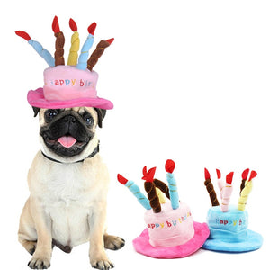 Birthday Cake Hat for Pets