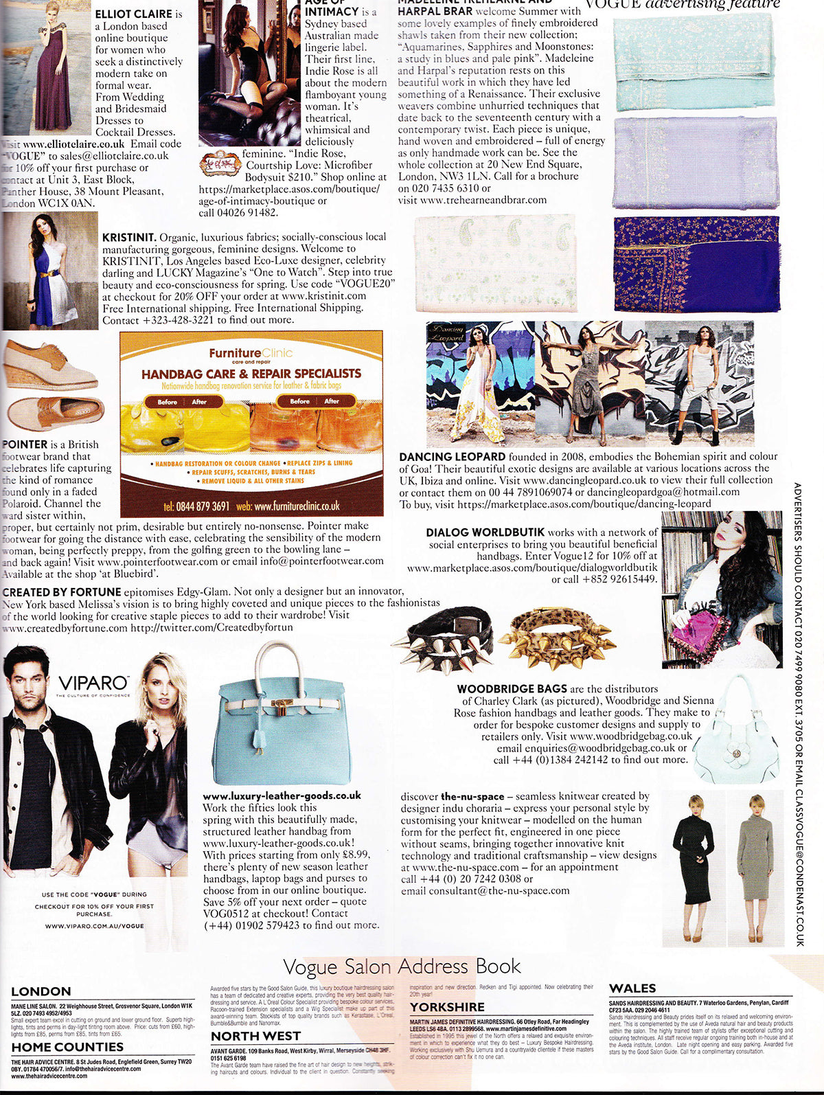 British Vogue May 2012 – Created by Fortune