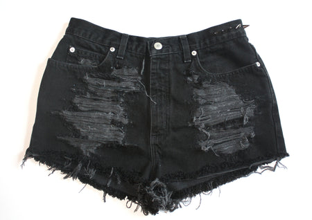 Lace Cutoff Shorts
