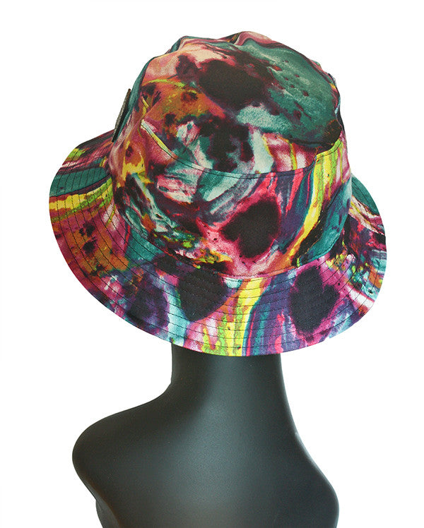 Printed bucket hat