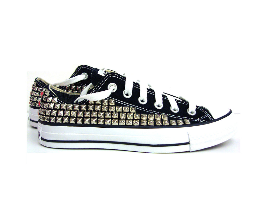 Men's Custom Low Top Studded Converse