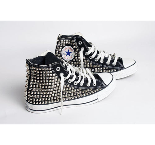 Custom Men's Studded Converse