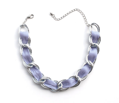 Clear Vinyl Choker Necklace