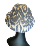 Ikat Bucket Hat back view