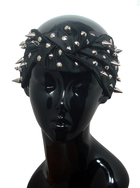 Zahara Metallic Knot Turban