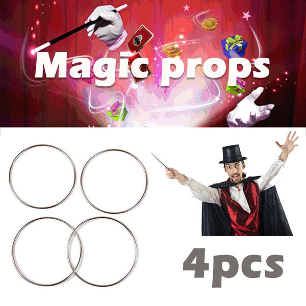 Four ring stage magic show magic toy