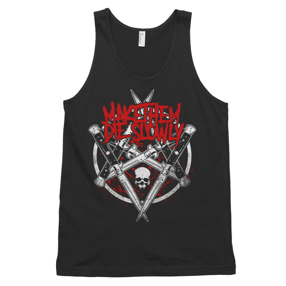 Switchblades tank top (unisex)
