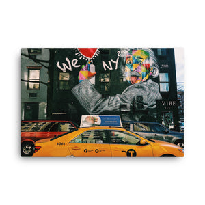 New York Streets Canvas