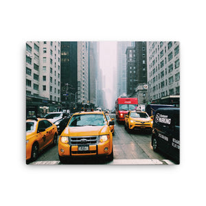 New York City Streets Canvas