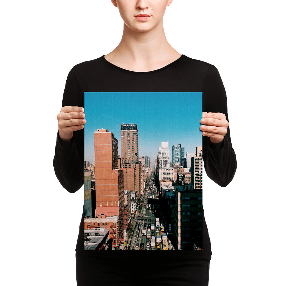 Streets of New York City Canvas