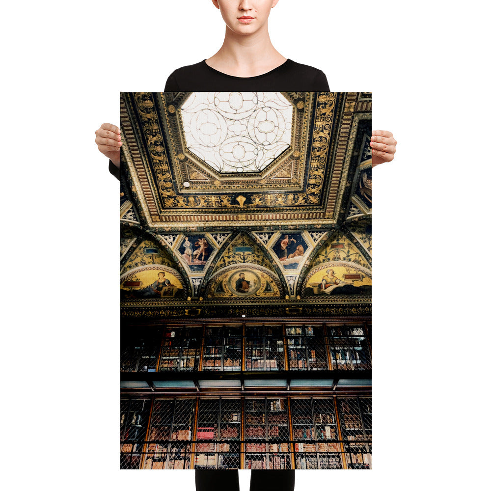 Morgan Stanley Library Canvas