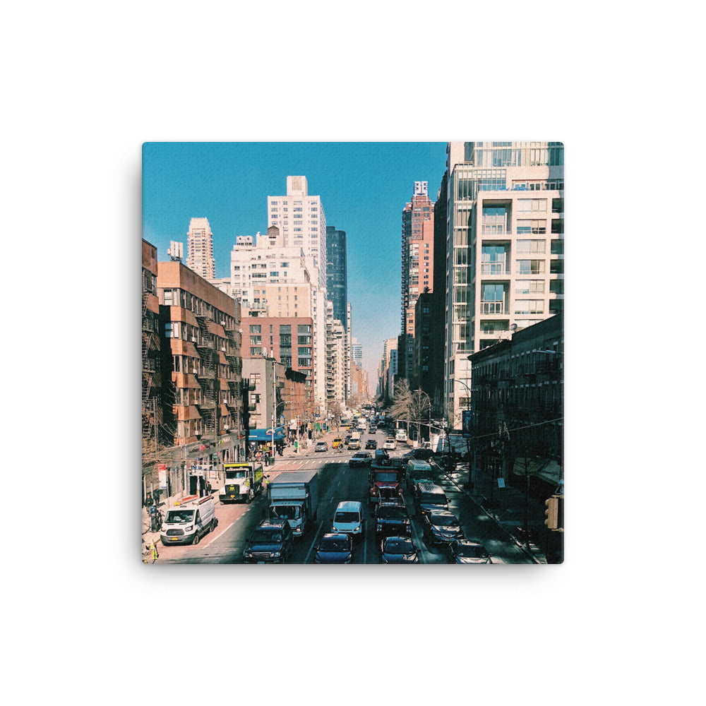Streets of New York Canvas