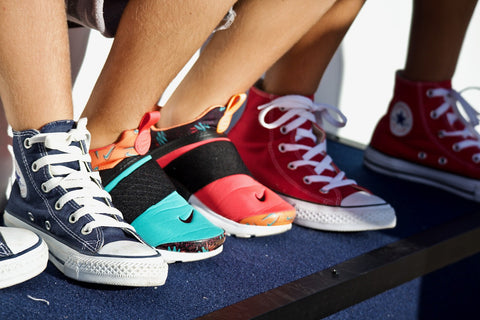 Different Ways to Style your Shoes