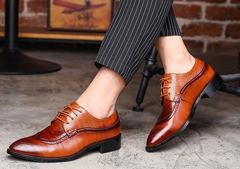 convert lace-up shoes to slip-on