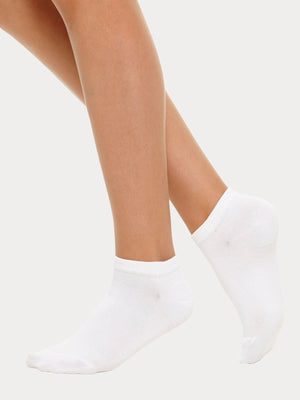 Vogue Cotton Basic Sneakers, 5-pack
