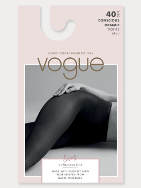 Vogue Conscious Opaque Tights 40 Denier.
