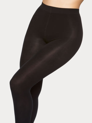 Vogue Hosiery super comfort 60 denier matt tights especially designed for plus size women.