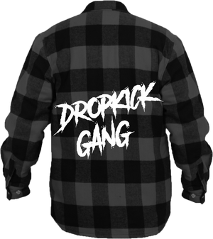Drop Kick Gang Flannel