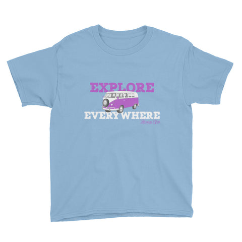 Youth Explore Everywhere Short Sleeve T-Shirt