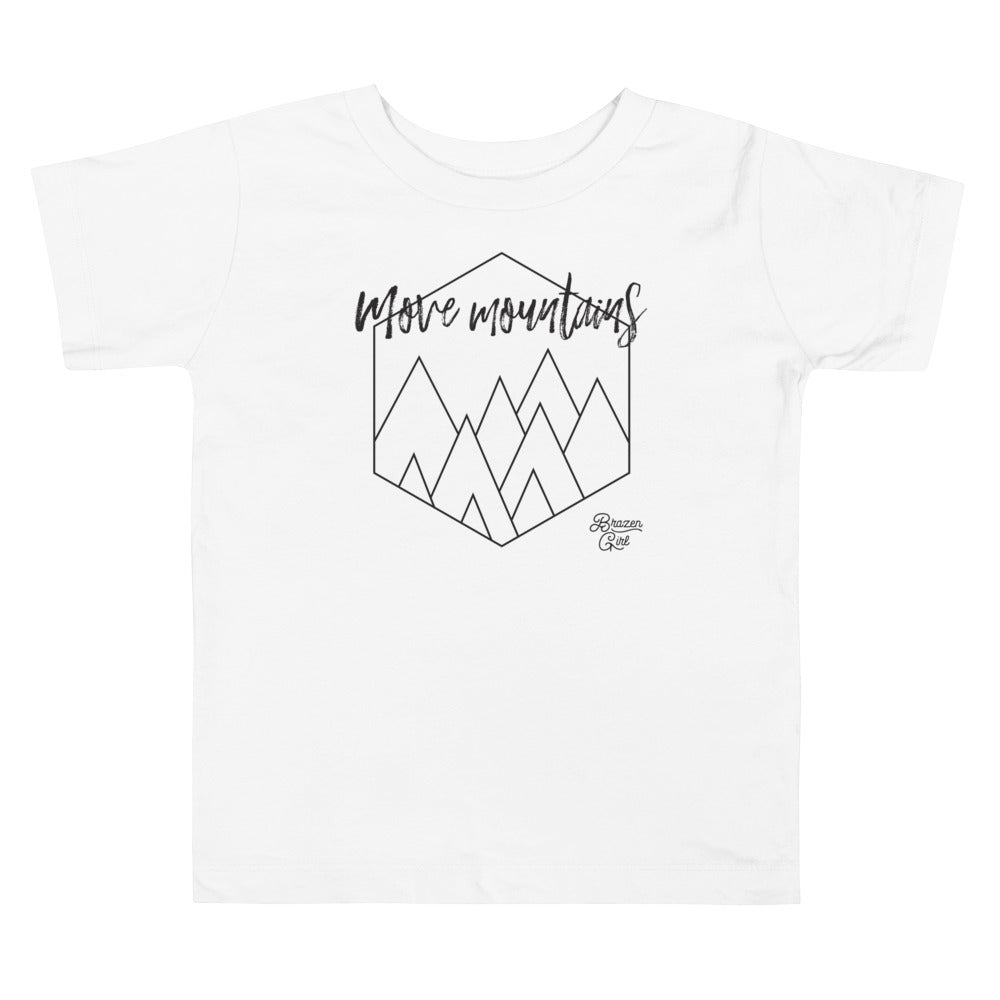 Toddler Move Mountains Short Sleeve Tee