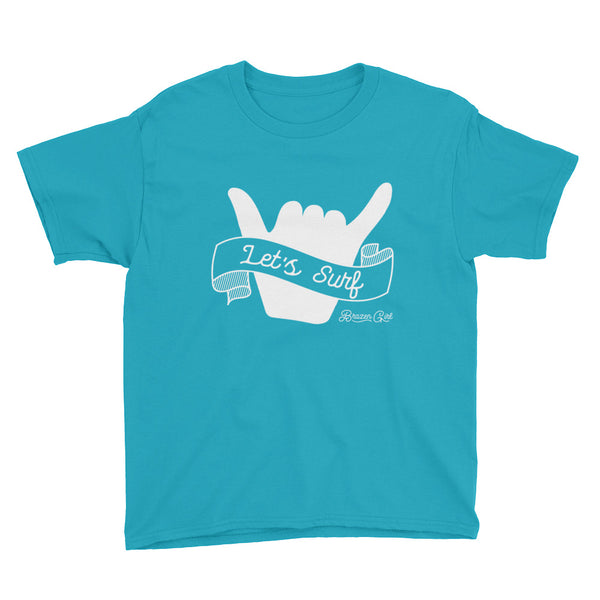 Youth Let's Surf Short Sleeve T-Shirt