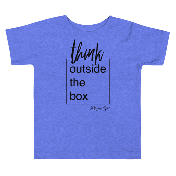 Toddler Think Outside the Box Short Sleeve Tee