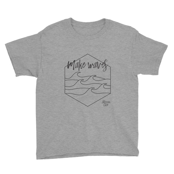 Youth Make Waves Short Sleeve T-Shirt
